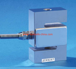 China Aluminum S Type Load Cell 20kg - 10000 kg Force Sensor For Tension / Compression supplier