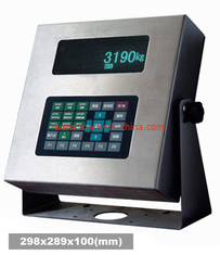China XK3190-DS3 Electronic Weighing Indicator Weighing System With 1 - 8 Load Cell Truck Scale supplier