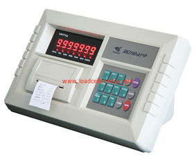 China Inner Printer Yaohua Xk3190 A9 Indicator , Truck Scale Electronic Weight Indicator supplier
